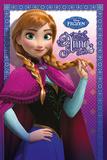 La Reine des neiges - Anna Posters