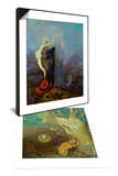 Caliban's Sleep (Shakespeare, the Tempest), 1895-1900 & Dream, 1904 Set Prints by Odilon Redon