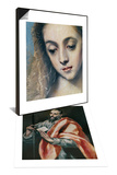 Saint Paul, the Apostle & Holy Family with Saint Anne Set Prints by  El Greco