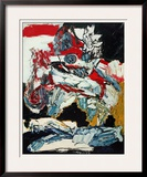 The Horseman Poster by Karel Appel