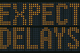 Expect Delays Congestion Sign Posters by Mr Doomits