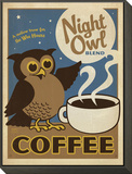 Night Owl Blend Coffee Framed Print Mount by  Anderson Design Group