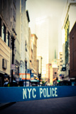 Retro Nyc Crime Scene Print by Mr Doomits