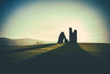 Vintage Styled Ancient Ruined Fort Photographic Print by Mr Doomits