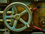 Vintage Industrial Machinery Photographic Print by Mr Doomits
