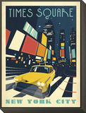 Times Square: New York City Framed Print Mount by  Anderson Design Group
