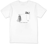 """I'm going to disqualify myself."" - New Yorker Cartoon T-shirts by Leo Cullum"