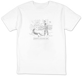 """Daddy's Litigious Girl"" - Cartoon T-shirts by Danny Shanahan"