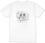 """I've considered portraiture, but everyone is so ugly."" - New Yorker Cartoon T-Shirt by Leo Cullum"