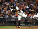 Division Series - Washington Nationals v San Francisco Giants - Game Four Photographic Print by Thearon W. Henderson