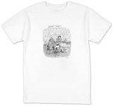 Worry Tank - New Yorker Cartoon T-shirts by Roz Chast