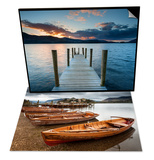 Keswick Launch Boats, Cumbria & Ashness Jetty, Lake District Nat'l Park, Cumbria, England Set Print by Chris Hepburn