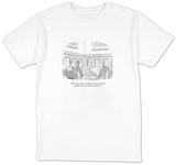 """When I go, I plan on taking at least two of my goddam estate-tax lawyers "" - New Yorker Cartoon T-shirts by Jack Ziegler"