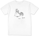 """""""Castle."""" - New Yorker Cartoon T-Shirt by Charles Barsotti"""