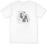 """Tell me again, Dad, how you started in the mailroom."" - New Yorker Cartoon Shirt by Leo Cullum"