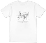 """""""Forty minutes at three hundred and fifty degrees should do it, Miriam, bu"""" - New Yorker Cartoon T-shirts by Michael Crawford"""