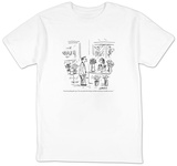 """I need something that says, 'I'm sorry about that thing I said that cause"" - New Yorker Cartoon T-shirts by David Sipress"