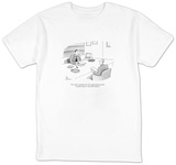 """I'm certain I speak for the entire legal profession when I say that the f?"" - New Yorker Cartoon T-Shirt by Leo Cullum"