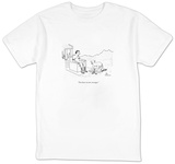 """You have no new messages."" - New Yorker Cartoon T-Shirt by Leo Cullum"