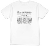 Who will be the... The Iron Accountant Pictures and descriptions of conte - New Yorker Cartoon T-Shirt by Roz Chast