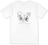 """I'm boredlet's buy a house in the country that has lots of problems."" - New Yorker Cartoon T-shirts by David Sipress"