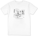"""The sixties are over, Ralph.  The seventies and the eighties, for God's s"" - New Yorker Cartoon T-Shirt by Jack Ziegler"