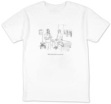 """""""Will I still be able to not exercise?"""" - New Yorker Cartoon T-Shirt by Paul Noth"""