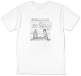 The Pessimist and the Paranoid - New Yorker Cartoon Shirt by Roz Chast