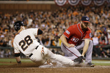 Division Series - Washington Nationals v San Francisco Giants - Game Four Photographic Print by Ezra Shaw