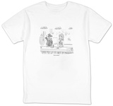"""I'm in a band."" - New Yorker Cartoon T-Shirt by Danny Shanahan"