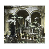 Seville (Spain), the House of Don Manuel De Las Heras, the Courtyard Photographic Print by Levy et Fils, Leon
