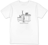 """If it pleases the Court, Your Honor, I'd like to quit the defense and joi"" - New Yorker Cartoon T-shirts by Tom Cheney"