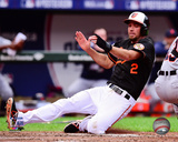 J.J. Hardy Game 2 of the 2014 American League Division Series Action Photo