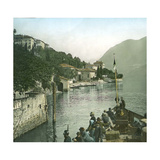 Moltrasio (Italy), Lake Como Photographic Print by Levy et Fils, Leon