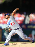 Division Series - Los Angeles Dodgers v St Louis Cardinals - Game Four Fotografie-Druck von Dilip Vishwanat