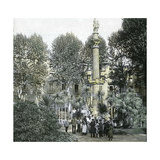 Barcelona (Spain), Duke of Medinaceli Square Photographic Print by Levy et Fils, Leon
