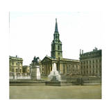 London (England), Trafalgar Square Photographic Print by Levy et Fils, Leon