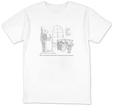 """That's a very good question, which is why we're going to move on to the n"" - New Yorker Cartoon T-shirts by Robert Mankoff"