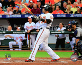 Nelson Cruz Home Run Game 1 of the 2014 American League Division Series Photo