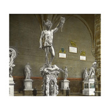 Perseus, Sculpted Bronze by Benvenuto Cellini (1500-1571), Florence Photographic Print by Levy et Fils, Leon