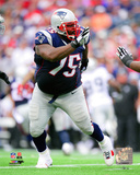 Vince Wilfork 2014 Action Photo