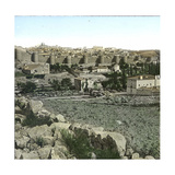 Avila (Spain), Panoramic View Photographic Print by Levy et Fils, Leon