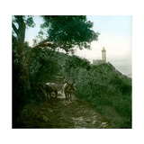 Cape Spartel, Tangier (Morocco), Circa 1885 Photographic Print by Levy et Fils, Leon