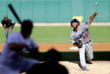 Division Series - Los Angeles Dodgers v St Louis Cardinals - Game Four Photographic Print by  Pool