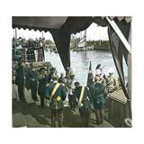 Copenhagen (Denmark), Arrival of King Rama V of Thailand (1868-1910) Photographic Print by Levy et Fils, Leon