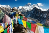 View of Everest from Gokyo Ri Photographic Print by Daniel Prudek