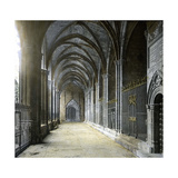 Barcelona (Spain), the Cathedral's Cloister Photographic Print by Levy et Fils, Leon