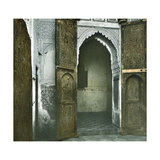 Courtyard of the Seraglio in the Kasbah, Tangier (Morocco), Circa 1885 Photographic Print by Levy et Fils, Leon