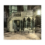 Siena (Italy), the Pulpit (1266-1268) of the Duomo (Cathedral), Circa 1895 Photographic Print by Levy et Fils, Leon