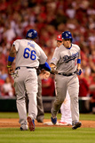 Division Series - Los Angeles Dodgers v St Louis Cardinals - Game Four Photographic Print by Jamie Squire